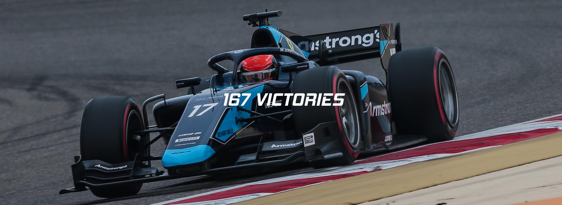167 victories